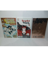 SCARLET WITCH #1 + AVENGERS #360 VISION + CAPTAIN MARVEL ONESSHOT FREE S... - $50.00