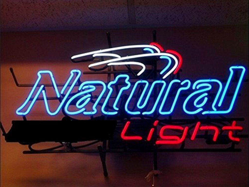 """New Natural Light Neon Sign 24""""x20"""" Ship From USA"""
