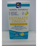Nordic Naturals Ultimate Omega 1280mg Omega 3, 60 softgels - $25.15