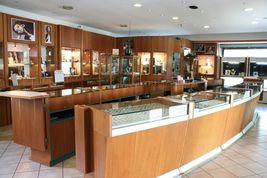 White Gold Earrings 750 18k, 0.39 Carat Diamonds, Button, Round, sett image 5