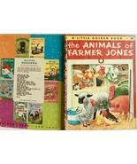 The Animals of Farmer Jones Little Golden Book 1953 G edition Scarry - $22.72