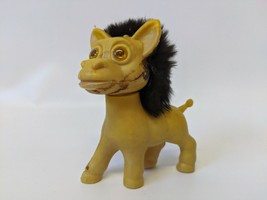 "Vintage 4"" Tall LOVEABLE UGLIES (Hong Kong) Lion Troll - $15.00"