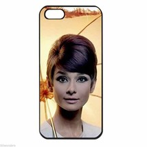 AUDREY HEPBURN UMBRELLA SWEET Iphone Case 4/4s 5/5s 5c  6  6 Plus 6s  7 SE - $14.95