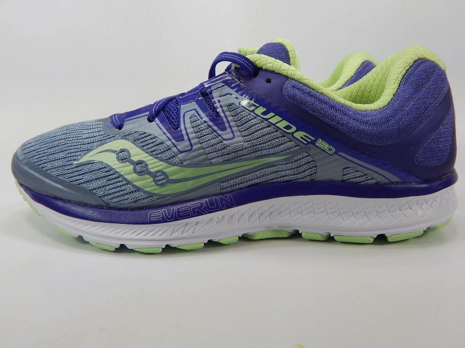 Saucony Guide ISO Size US 8 M (B) EU 39  Women's Running Shoes Purple S10415-1