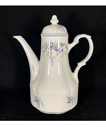 """J&G MEAKIN 10-1/2"""" TEAPOT Sterling Colonial England DELWOOD Blue Rose Pa... - $24.26"""