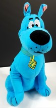 """Scooby Doo Plush Toy 13"""" Blue By Toy Factory Collected Only EUC  - $19.79"""