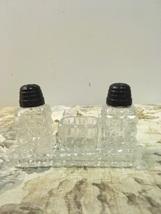 Vintage Miniature Salt & Pepper Shaker Set With  Mustard Pot - $8.99