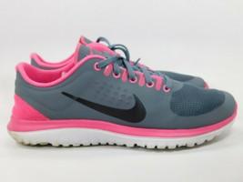 Nike FS Lite Courir Taille US 7 M (B) Eu 38 Femmes Chaussures Course Gris - $33.22