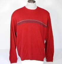 Izod Crewneck Knit Luxury Sweater Men's 2XL XXL NWT $72 - $44.54