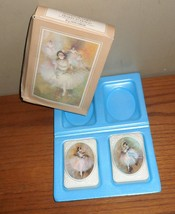 Vintage Avon BEAUTY IN MOTION 2 Special Occasion Ballerina SOAPS in Orig... - $20.00