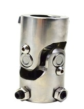 "Forged Stainless Steel Yokes Steering Shaft Universal  U-JOINT 1"" DD TO 1"" DD"
