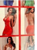 Women's Sexy Lingerie ShortVFront LaceLowBack DressUnderwear BabydollG-string !M - $9.78