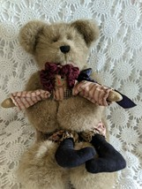 """Boyds Bear Holding Doll Retied 17"""" - $19.39"""