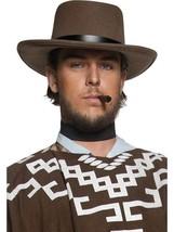 Authentic Western Wandering Gunman Hat,One Size,Cowboys Fancy Dress  - $8.44