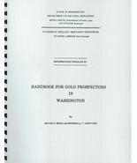 Handbook for Gold Prospectors in Washington ~ Gold Prospecting - $14.95