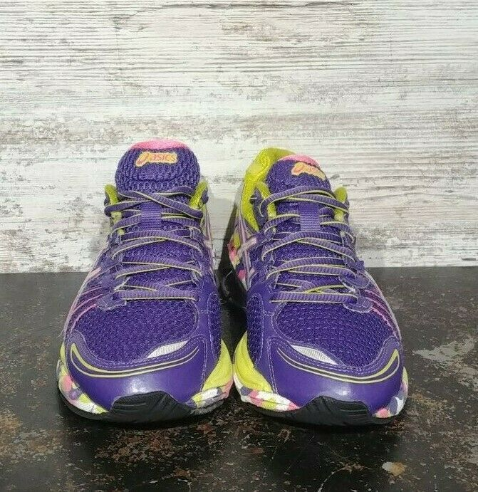 Womens Asics Gel Sendai Running Shoes SZ 6.5 37.5 Used T36DQ Sneakers Trainers image 3