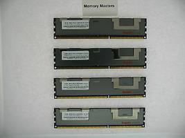32GB 4X8GB MEMORY FOR HP PROLIANT BL460C G6 BL460C G7 BL490C G6