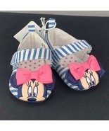 Disney Store Minnie Mouse Baby Shoes NWT Size 0-6M - $14.35