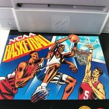 NCAA Basketball (Super Nintendo, 1992) SNES nearly mint cart & manual - $13.86