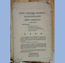1946 vintage CADACO ELLIS FOTO electric FOOTBALL BOARD GAME coleco image 4