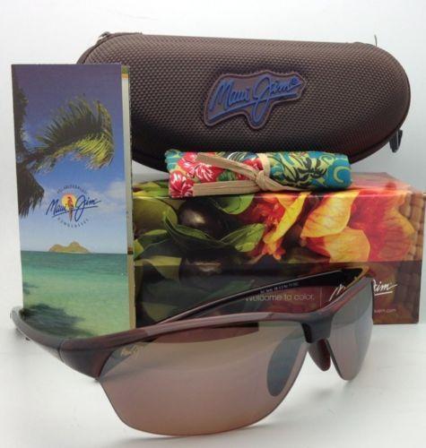Nuevas Polarizadas Maui Jim Gafas de Sol Sexy Tierra Mj 426-26 Rootbeer Hcl
