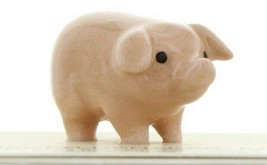 Hagen Renaker Miniature Farm Pig Pink Brother Ceramic Figurine image 1