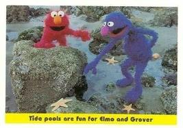 Elmo and Grover Sesame Street trading card 1992 Idolmaker #48 - $3.00