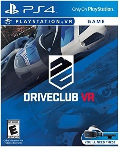 DriveClub: VR for PlayStation 4 [New PS4] Video Game
