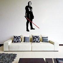 (36'' x 71'') Star Wars Vinyl Wall Decal / Anakin Skywalker with Lightsaber Die  - $66.64