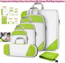 Lot 6 pcs organizer travel set storage luggage suitcase backpack camp me... - €44,64 EUR