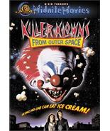 Killer Klowns From Outer Space DVD - $2.95