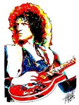 "Brian May, Queen, Guitar, Vocals, Hard Rock, Glam Rock, 18""x24"" Art Print 1 - $19.99"