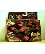 Rubik's Checkers Challenge - Ages 8 to Adult, 2 Players - $14.34