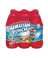 Hawaiian Punch Fruit Juicy Red, 10 Fluid Ounce Bottle, 6 Count Pack of 4 - £24.22 GBP
