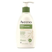 Aveeno Daily Moisturizing Body Lotion with Broad Spectrum SPF 15 Sunscreen, Soot - $9.28