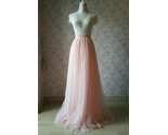 Blush wedding bridesmaid tulle skirt 2 thumb155 crop
