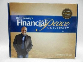 Financial Peace Revisited Dave Ramsey 16 Audio Cd's Book Envelope System... - $24.74