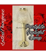 "Partylite Gaslight Library Candle Lamp with Scalloped Edge Shade 14.5"" Tall - $27.71"