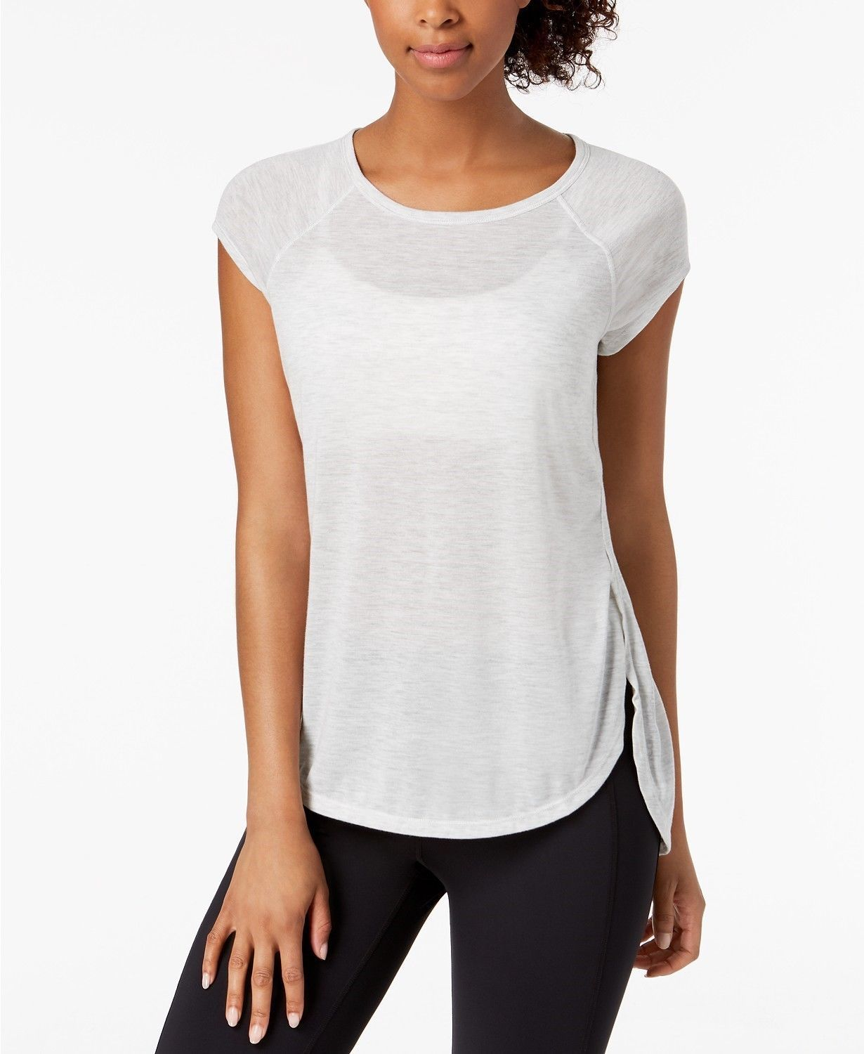Primary image for Calvin Klein Womens Performance Cap Sleeve Open Side Top Size XS - $29 - NWT