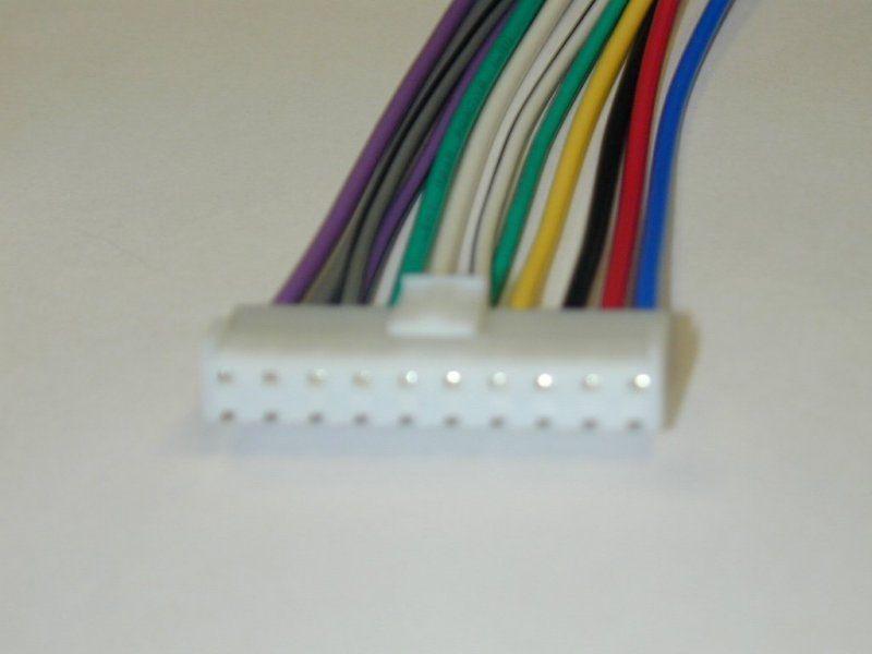PIONEER 10 Pin Wiring Harness PIONEER Car Stereo WIRING HARNESS straight Socket