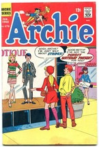 Archie #179 1968-MOD FASHION cover VG - $44.14
