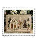 MAIN STREET STATION release #2 Hometown Holidays cross stitch chart Litt... - $5.40