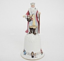 Lenox Grandfather Frost Collector Bell Christmas Old World Santa 1996 As Is - $9.89