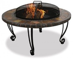 Outdoor Fire Pit Patio Wood Burning Fireplace Backyard Garden Deck Stove... - £205.12 GBP