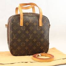 LOUIS VUITTON Monogram Spontini Shoulder Bag Hand Bag M47500 LV Auth ar1084 - $540.00