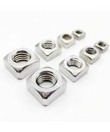 Square Nuts 20/100pcs High Quality M3 M4 M5 M6 M8 M10 M12 DIN557 GB39 30... - $9.41+