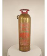 Vintage Antique Rare Gorham Soda Acid Fire Extinguisher Boston Massachus... - $98.99