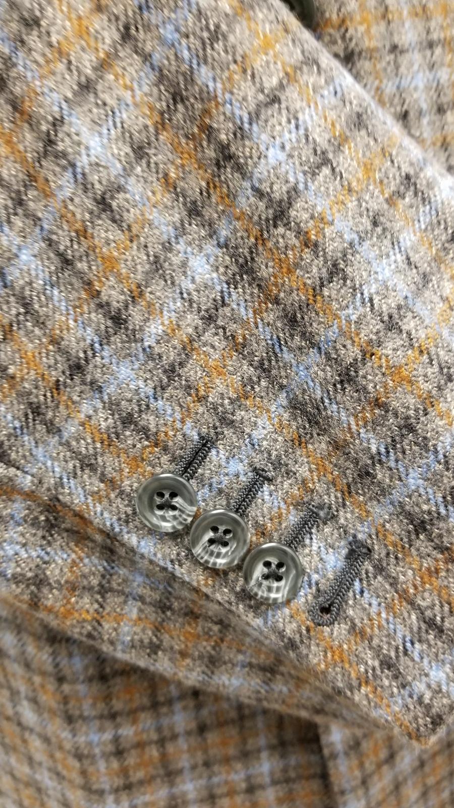 Harris Tweed Wool Sport Coat