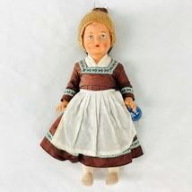 """Vintage Diese Puppe Tragt Bekleidung A-Z Doll National Costume Dress 10""""... - $18.92"""