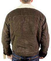 NEW LEVI'S MEN'S CLASSIC CORDUROY BROWN FUR TRUCKER JACKET 705200018 SIZE S image 4